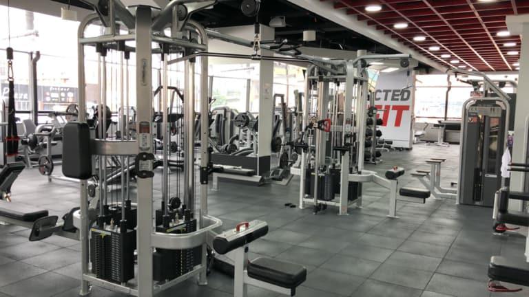 gymservice av gymutrustning